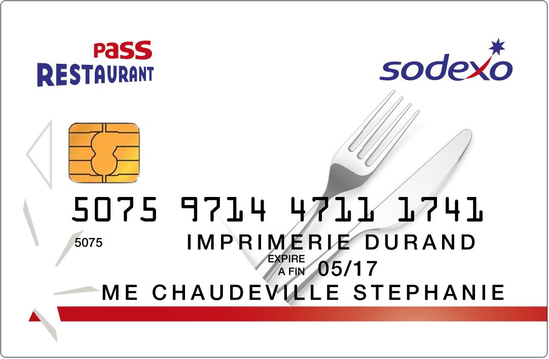 La nouvelle carte Pass Restaurant