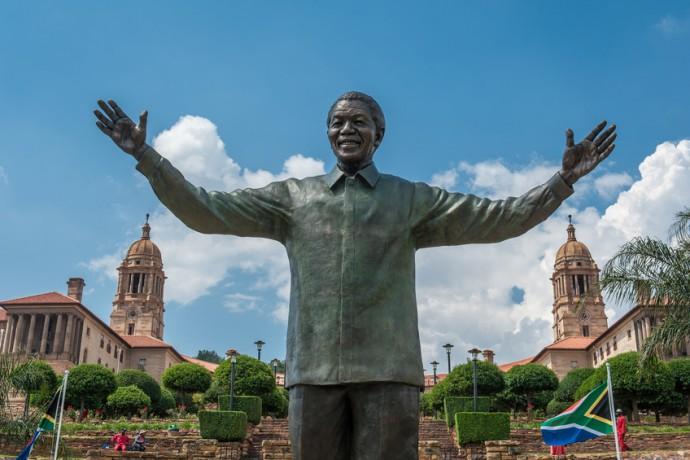 Statue de Nelson Mandela