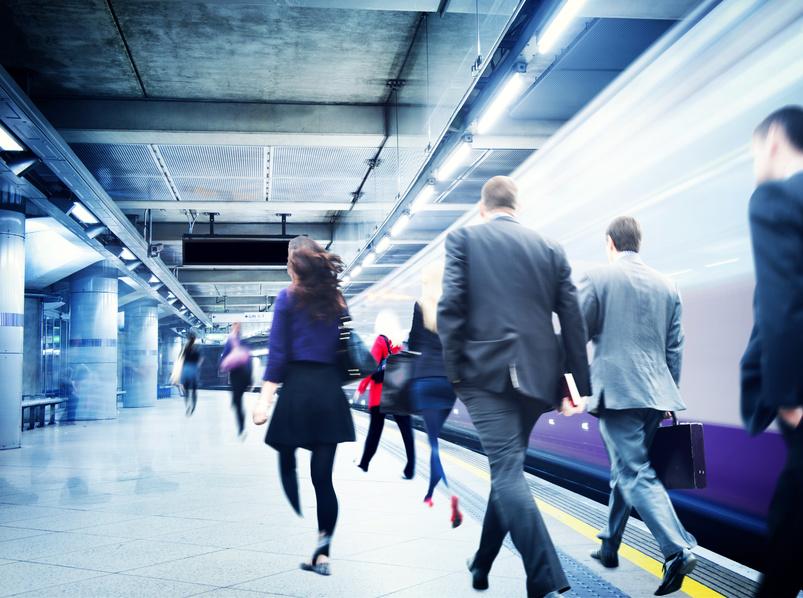 Les actifs français font en moyenne 50 min de transport par jour