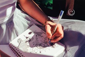 Picasso de bureau et autres gribouilleurs en herbe
