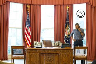 Un président doit savoir choisir son bureau