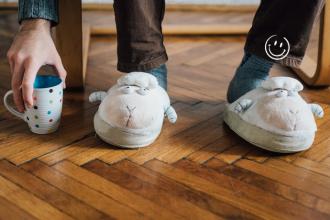 Travailler en chaussons augmente la créativité