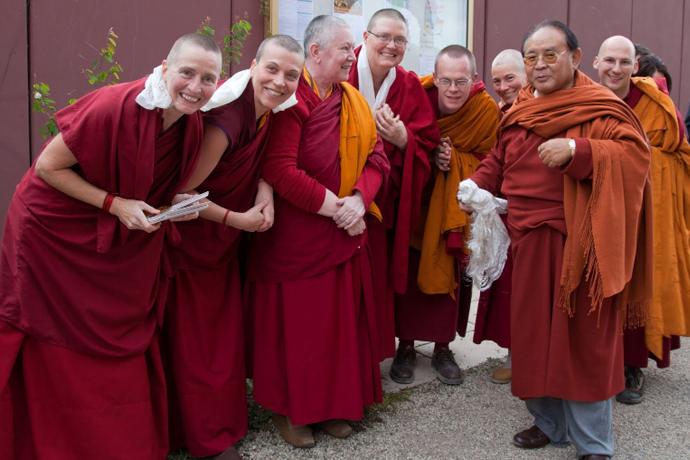 Motiver quand on est chef d'un temple bouddhiste