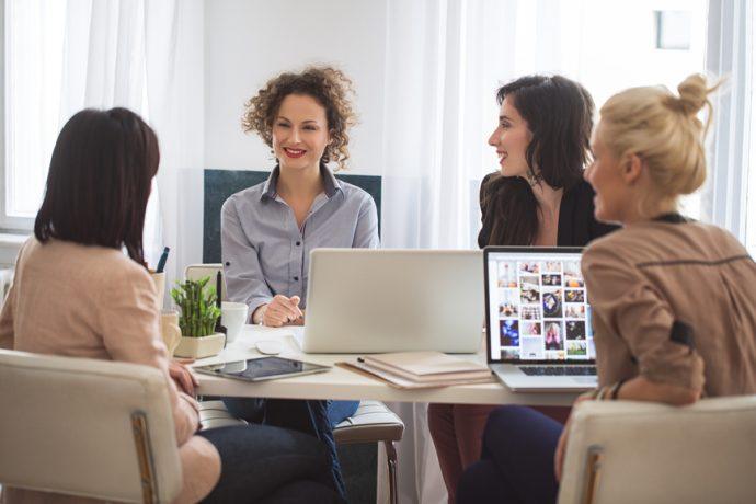 Les femmes font de bonnes dirigeantes