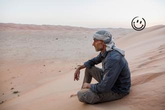 Télétravail dans le désert, une expérience inédite