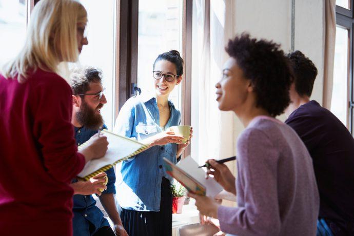 Innovez en essayant la réunion debout