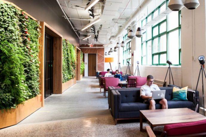Des espaces de travail d'un nouveau genre