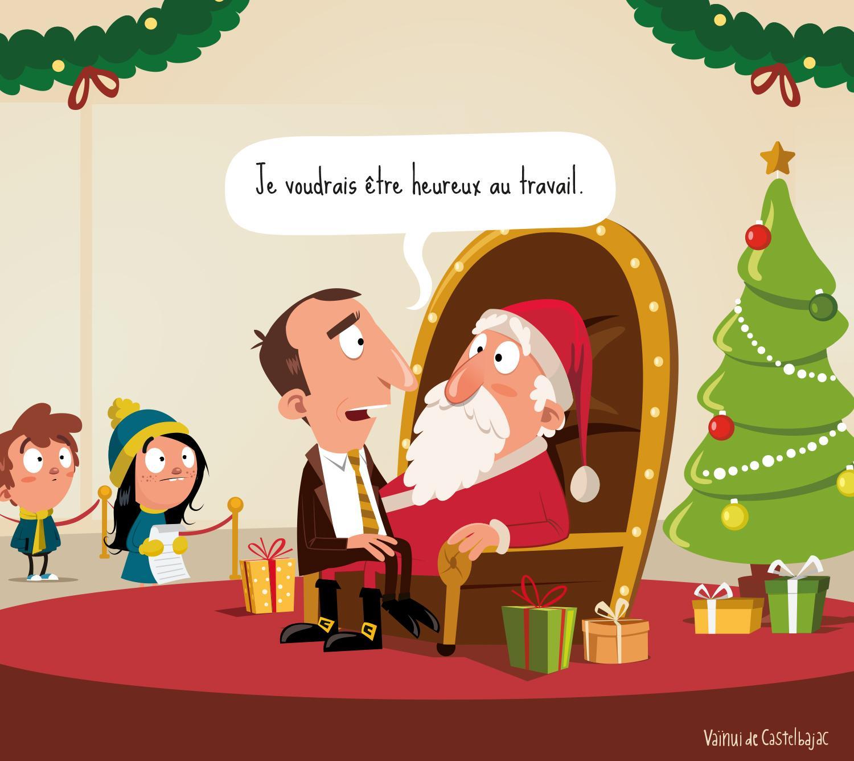 Cadeau de Noël QVT