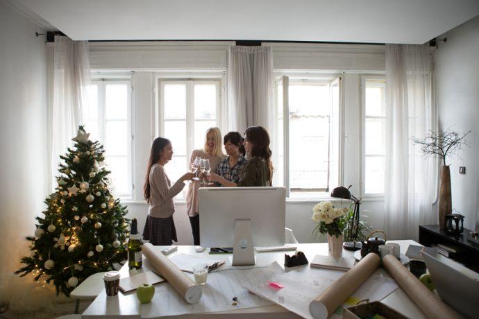 Fêter Noël au bureau