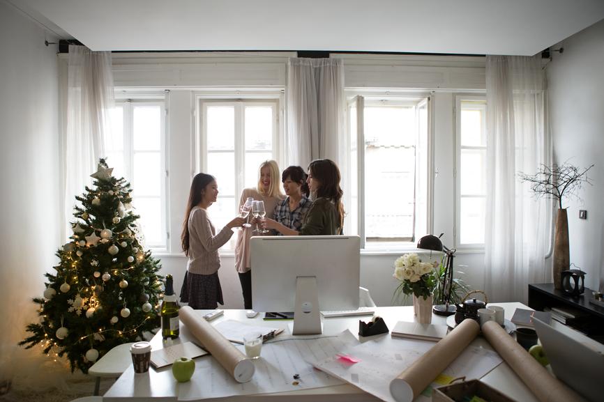 Réussir son pot de Noël au bureau !