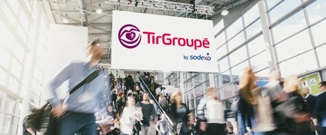 TirGroupé by Sodexo à votre rencontre sur les salons pour les CSE !