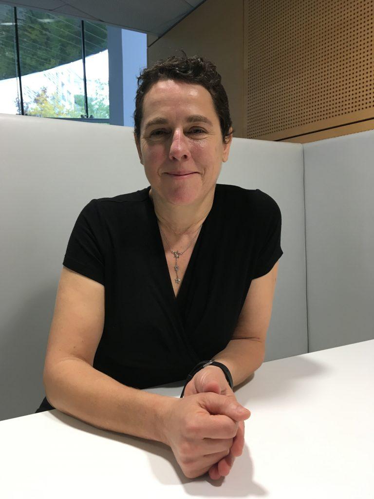 Corinne Colombo, experte handicap et diversité chez Bayer